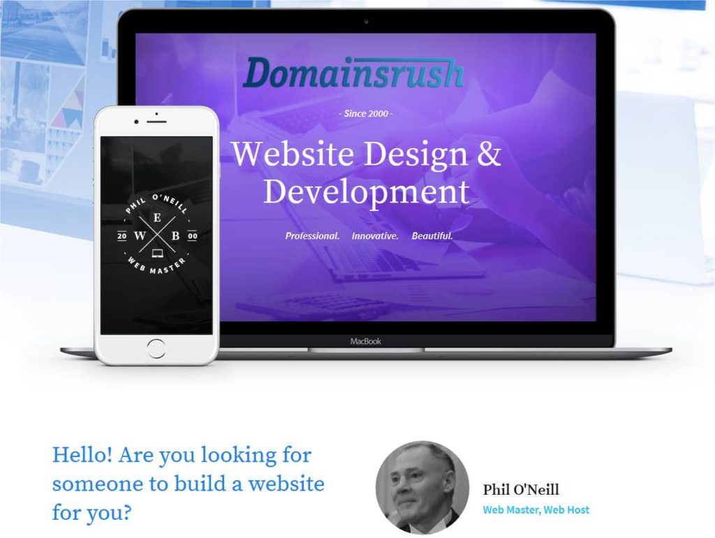 Web design by Phil O'Neill